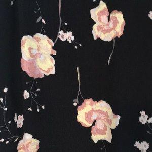 Abound Skirts - Black floral skirt from Nordstrom Rack.